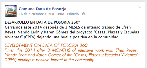 Facebook - Data de Posorja